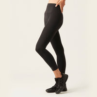 Modibodi 7/8 Recycled Active Leggings Black Moderate-Heavy |ModelName:Bianca 8/XS
