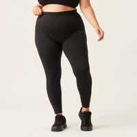 Modibodi 7/8 Recycled Active Leggings Black Moderate-Heavy |ModelName:Bruna 18/2XL