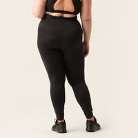 Modibodi 7/8 Recycled Active Leggings Black Moderate-Heavy |ModelName:Mia 16/XL