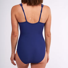 Load image into Gallery viewer, Modibodi Swimwear One Piece Navy Light-Moderate