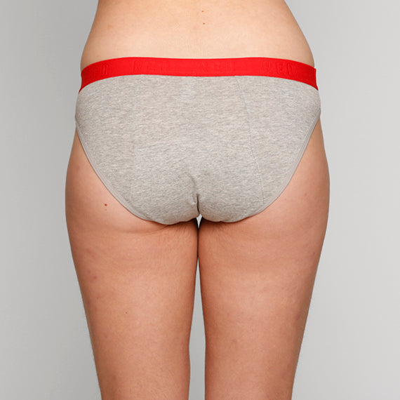 Load image into Gallery viewer, Teen Period Underwear - RED Modibodi Hipster Bikini