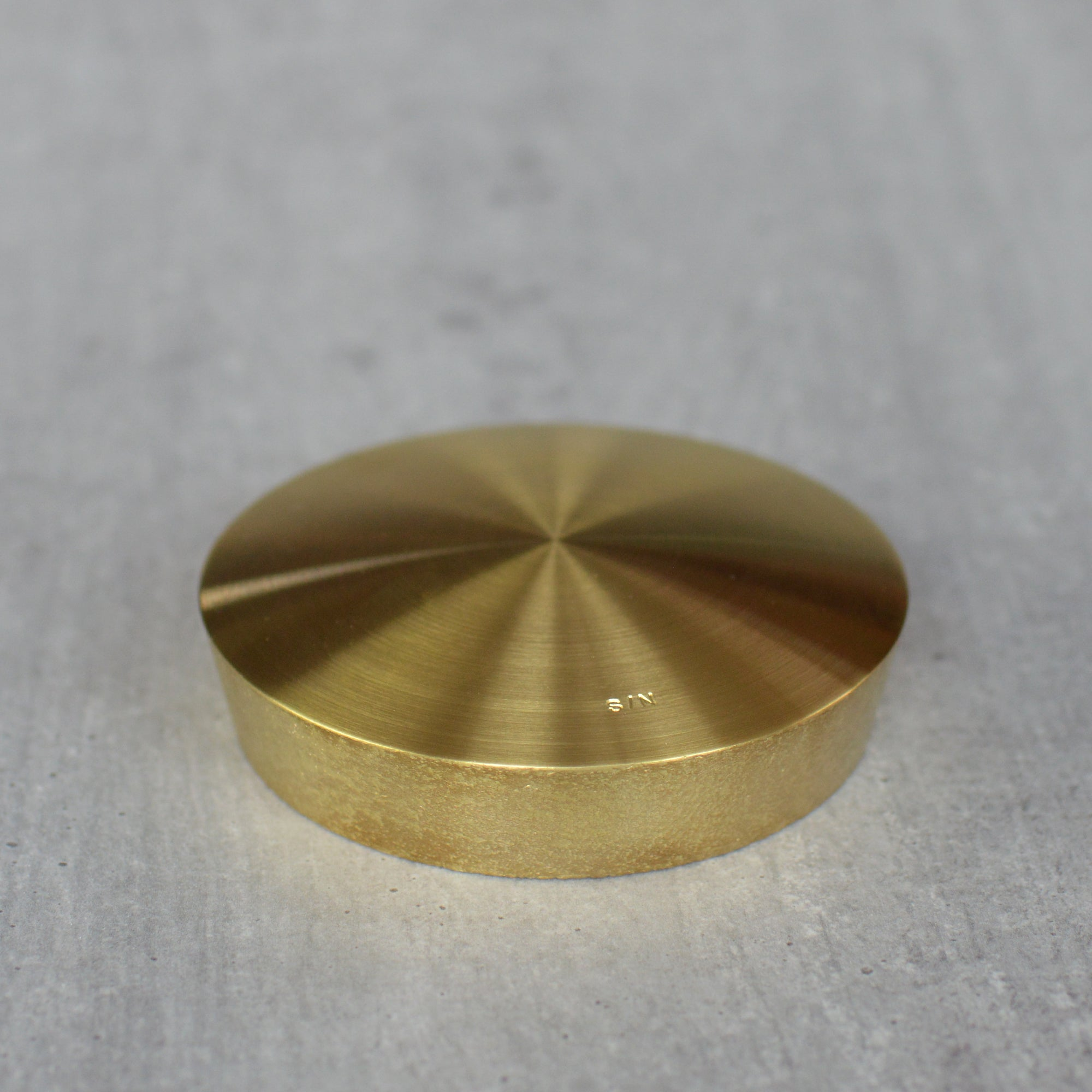 Brass Clip Holder by Taku Shinomoto