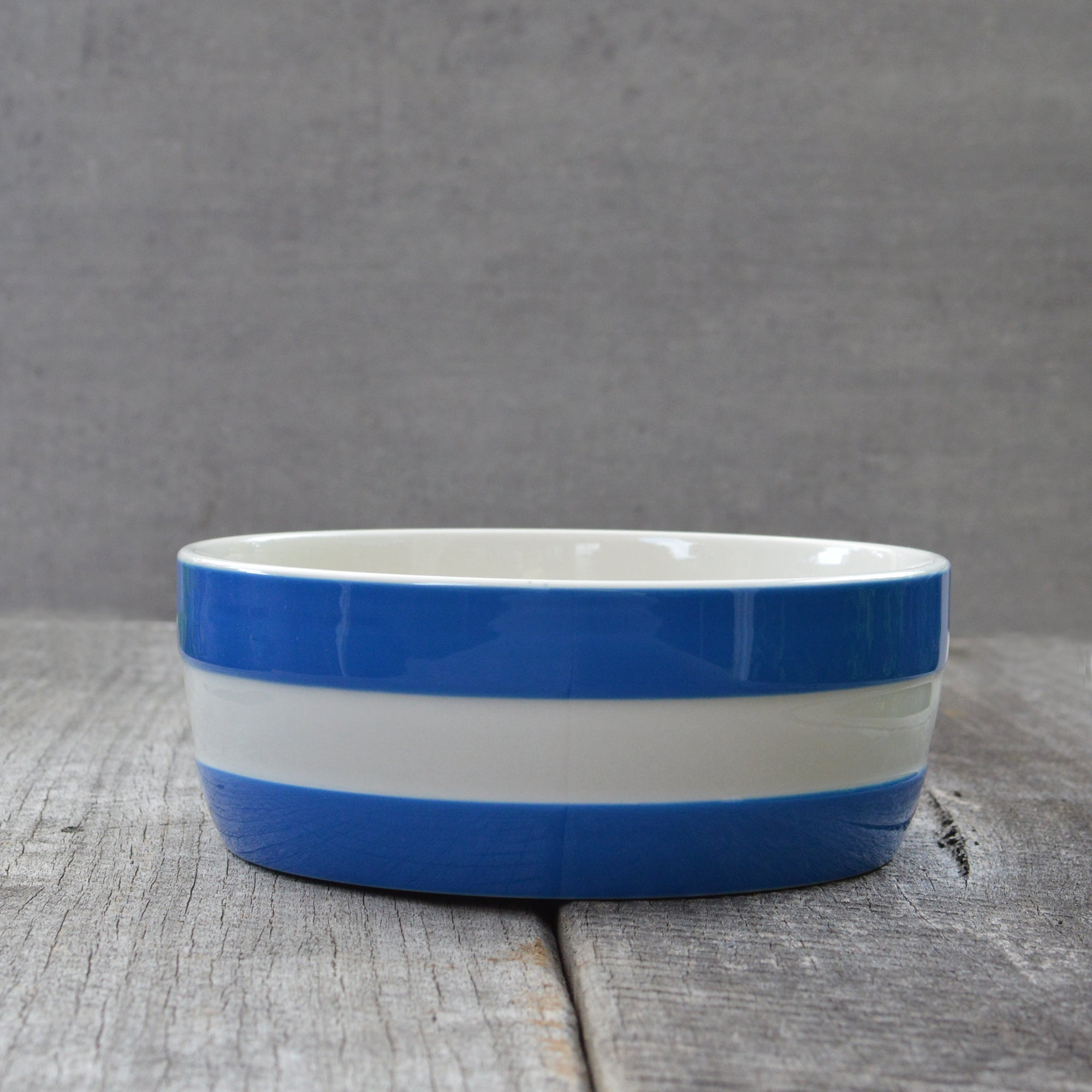 Cornishware Blue Dog Bowl