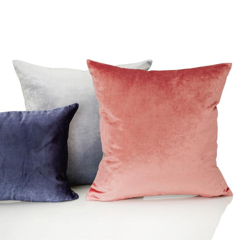 Iosis France Velvet Berlingot Cushion - Grenadine 45cm cushion