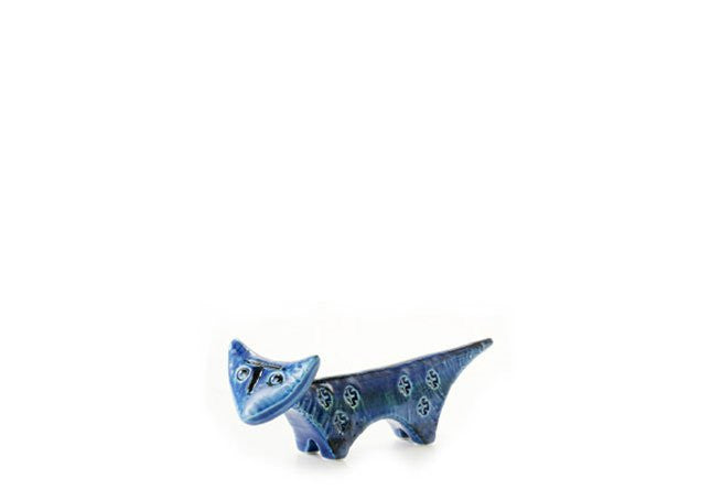 Bitossi Italy Ceramic Triangolare Cat Figure
