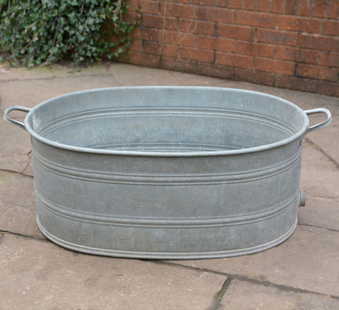 Vintage French Extra Large Laundry Wash Tub