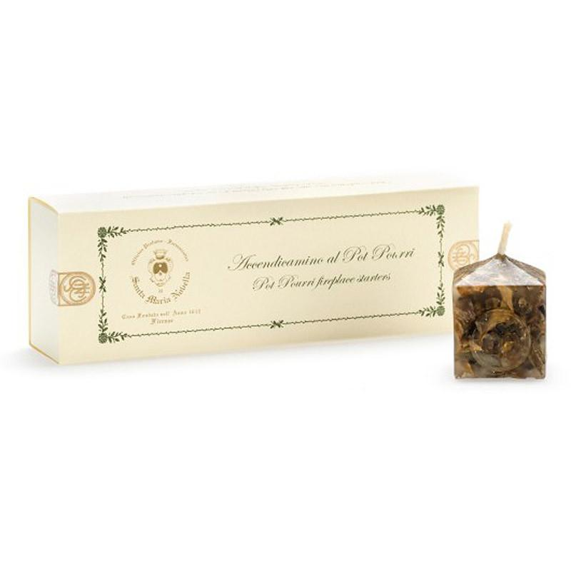 Santa Maria Novella Pot Pourri Fire Starter Candles