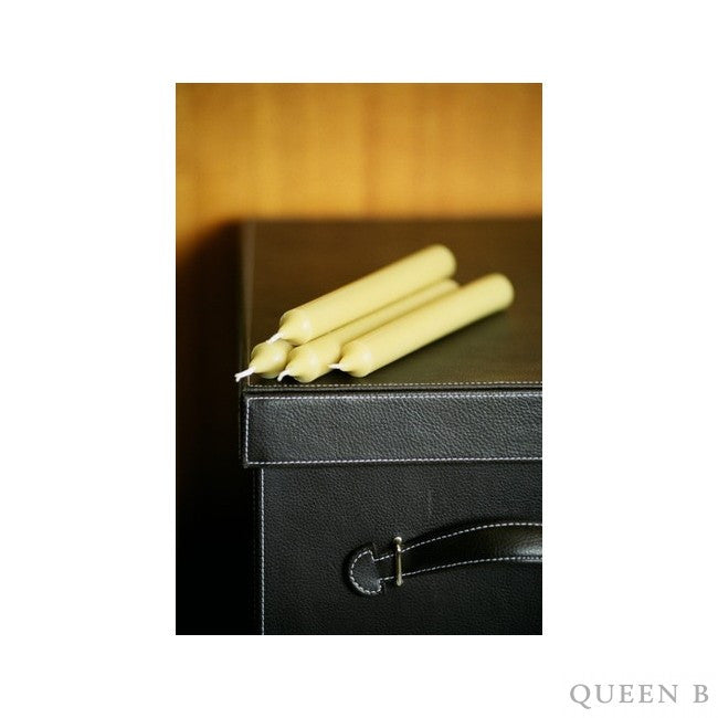 Queen B Taper Candles pack of 4
