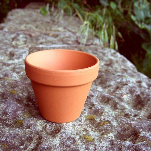 Mini Terracotta Pot Made in Germany