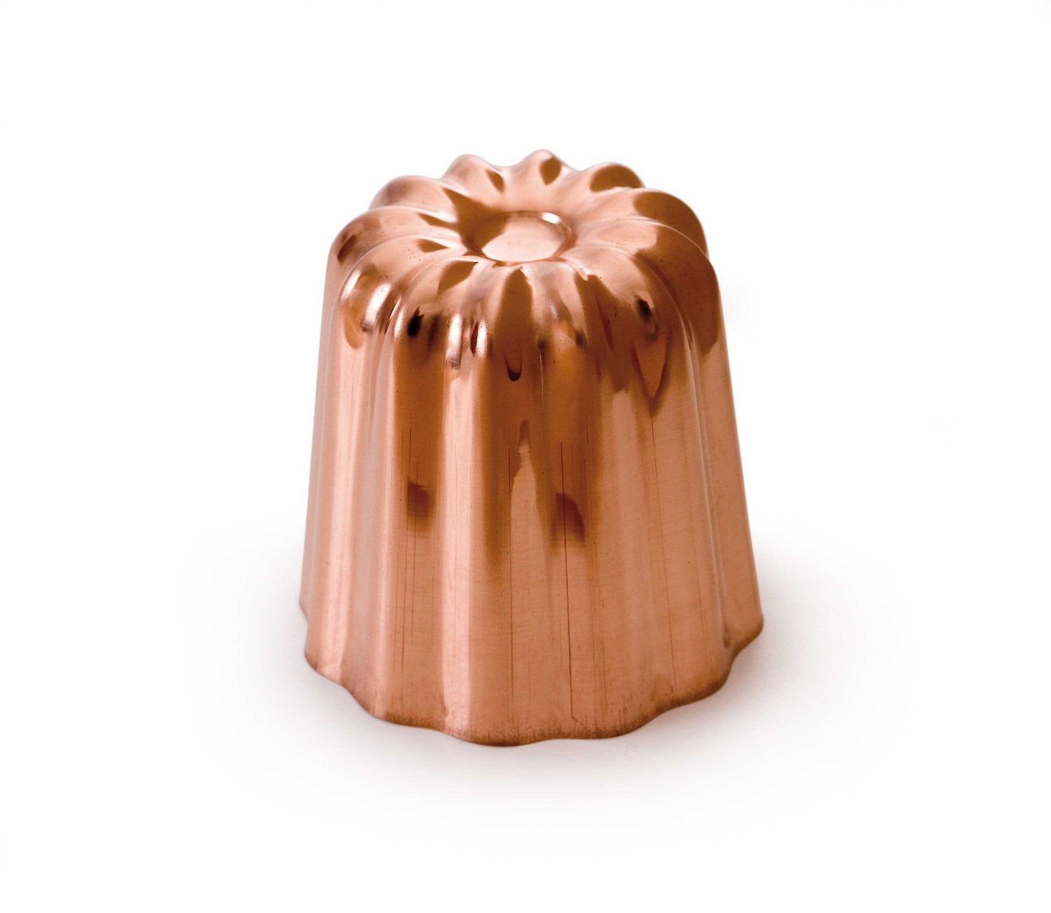 Copper Canele Mold by Mauviel France