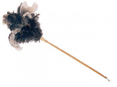 Ostrich Feather Duster Long - Redecker