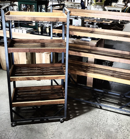 Industrial Shoe Trolley/ Cobblers Trolley Medium