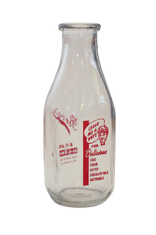 Vintage Berg Dairy Milk Bottle