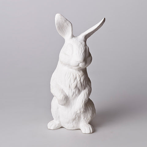 Bone China Standing Rabbit Lamp