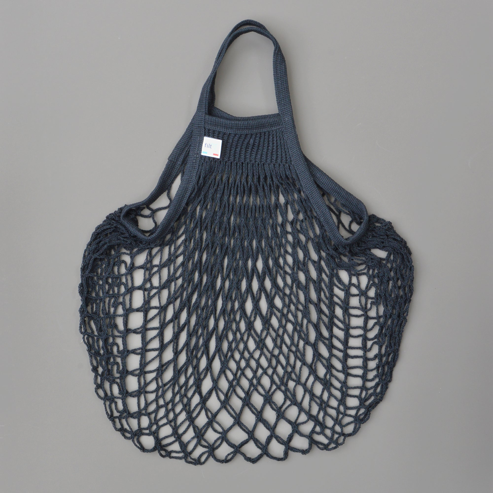 French String Bag - Black