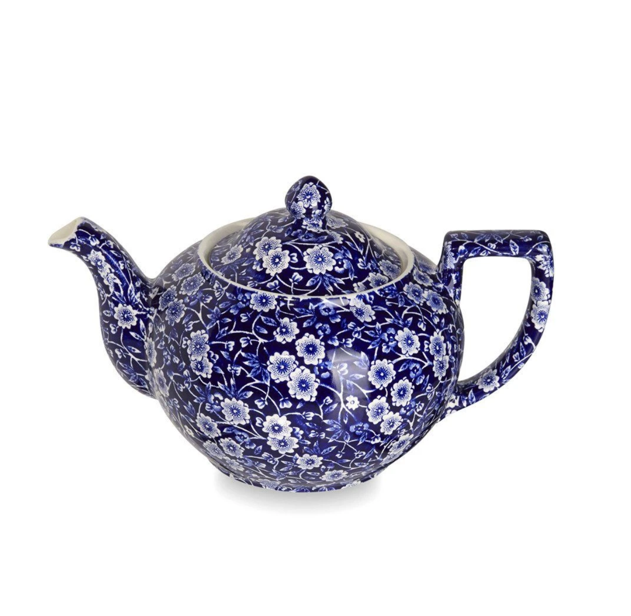 Burleigh UK Blue Calico - Teapot