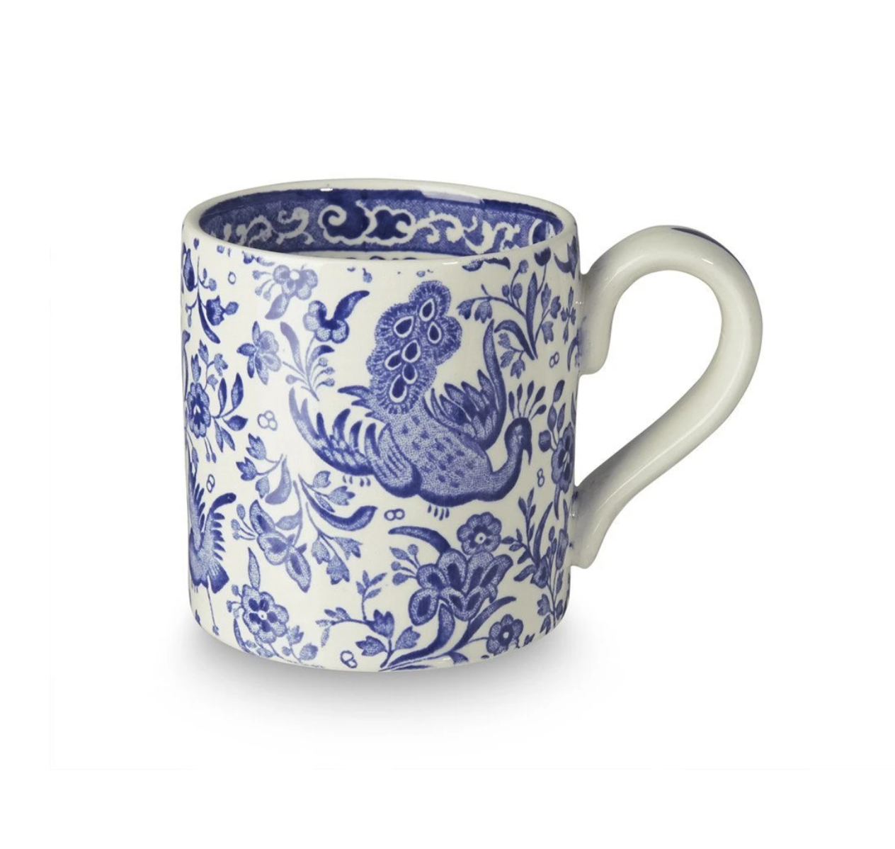 Burleigh UK Blue Regal Peacock - Mug
