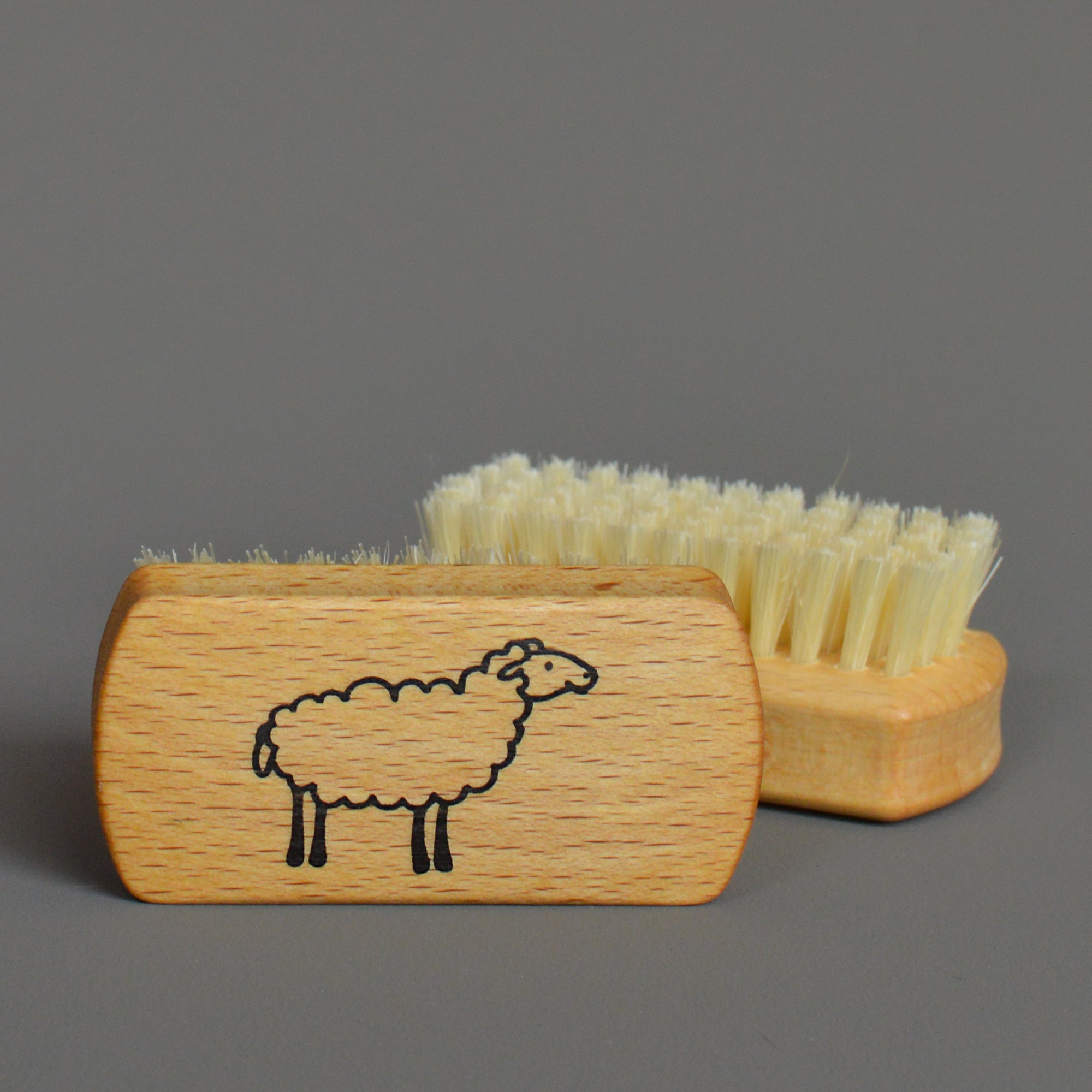 Nail Brush with Sheep by Redecker