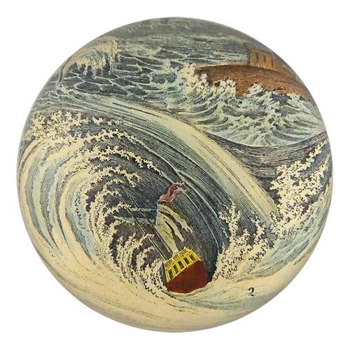 John Derian Whilpool Paperweight