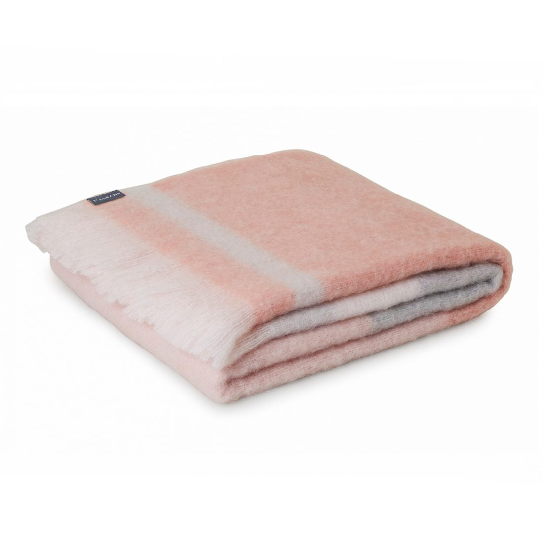 Mohair Throw Rug - Champagne by St Albans