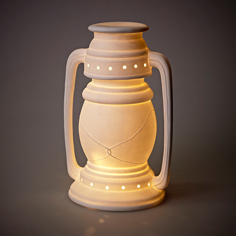 Porcelain Camplight Lamp