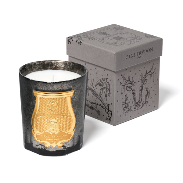 Cire Trudon Ernesto Grey Metallic Leaf Limited Edition Candle