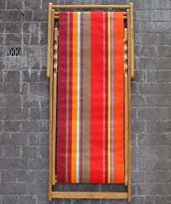 Deck Chair Collioure Rouge