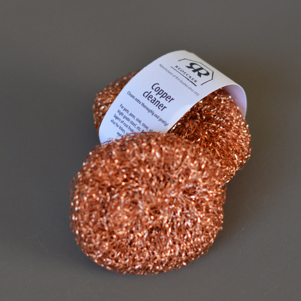 Copper Scourer Set of Two by Redecker