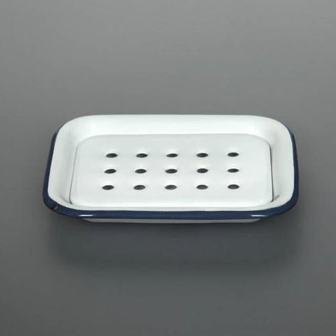 Classic Two Piece Enamel Soap Dish
