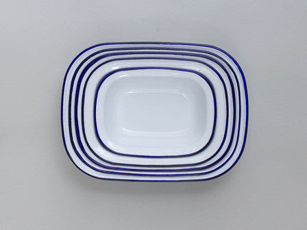 Enamel Pie Set- Falcon Enamelware