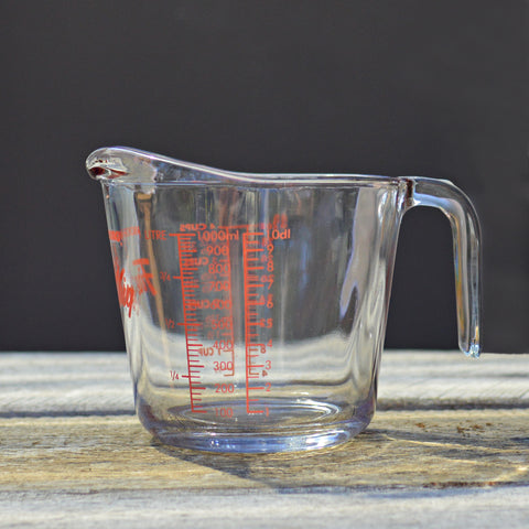 Fire King 1 Litre Measuring Cup