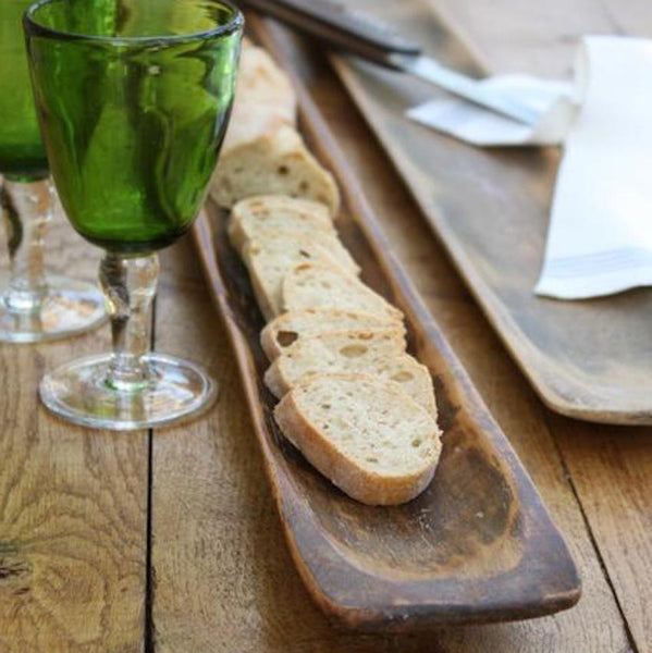 Vintage French Wooden Baguette Board