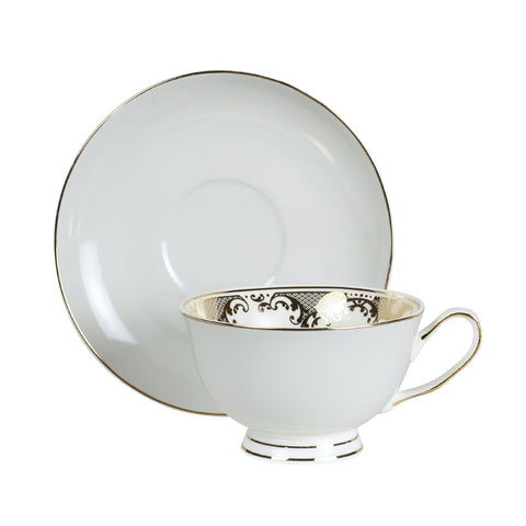 Teacup and Saucer set - Parlour Grey
