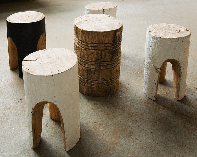 Beetle Track Stool by Greg Hatton