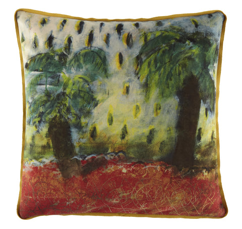 Maison Levy Casino Cushion - 50 x 50- Luxury Velvet