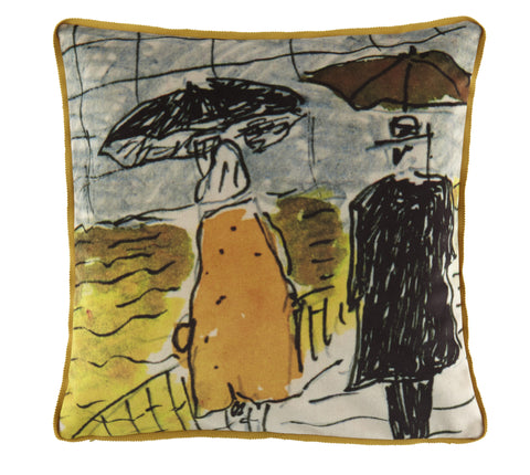 Maison Levy Umbrella Cushion - 50 x 50- Luxury Velvet