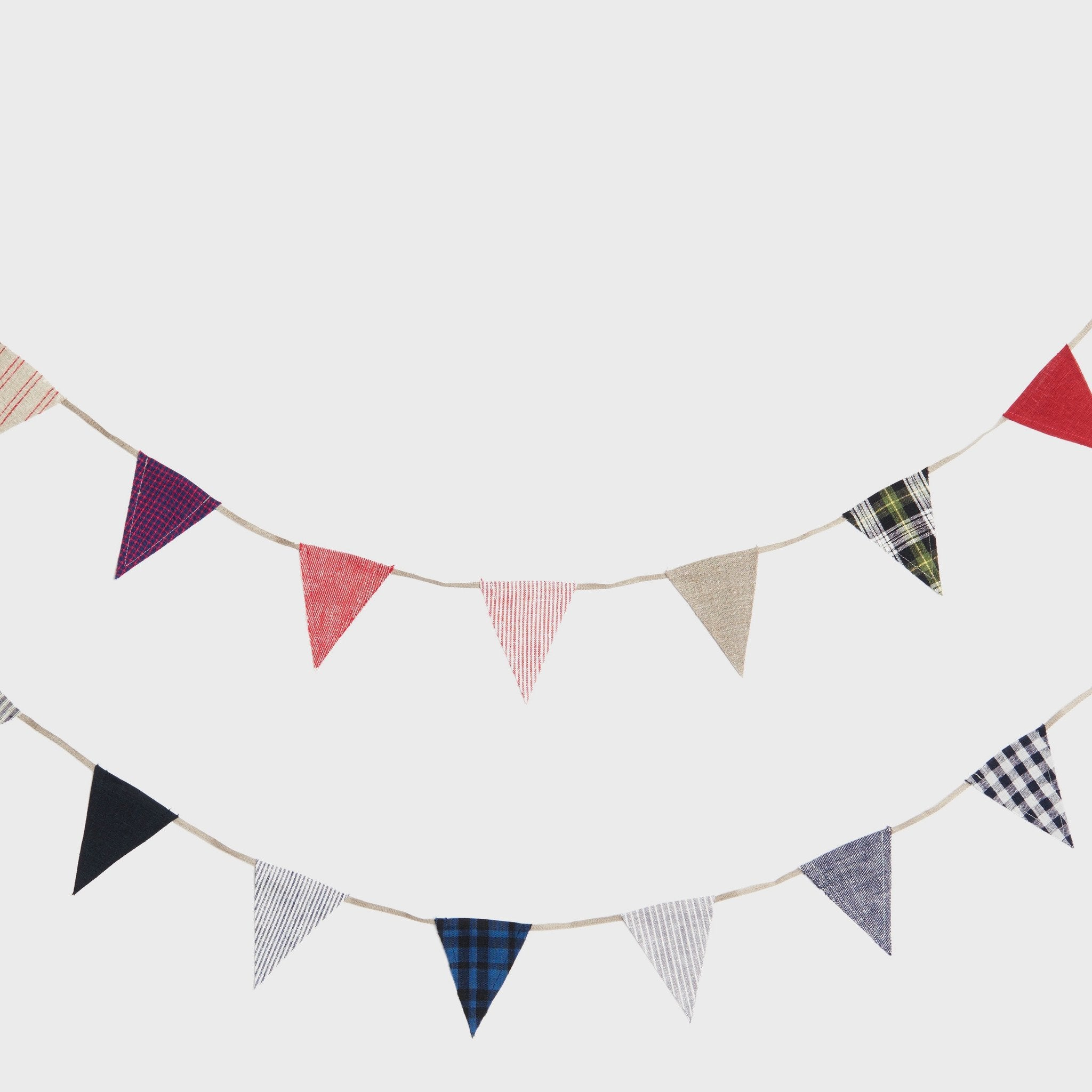 Linen Bunting by Fog Linen Work Japan