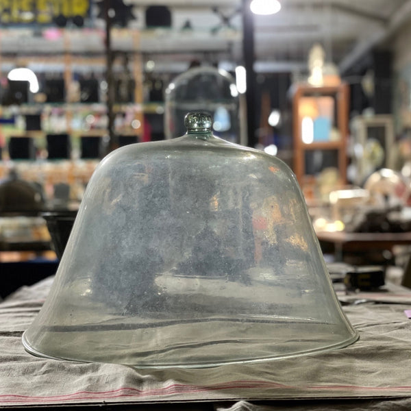 Antique French Melon Cloche - A