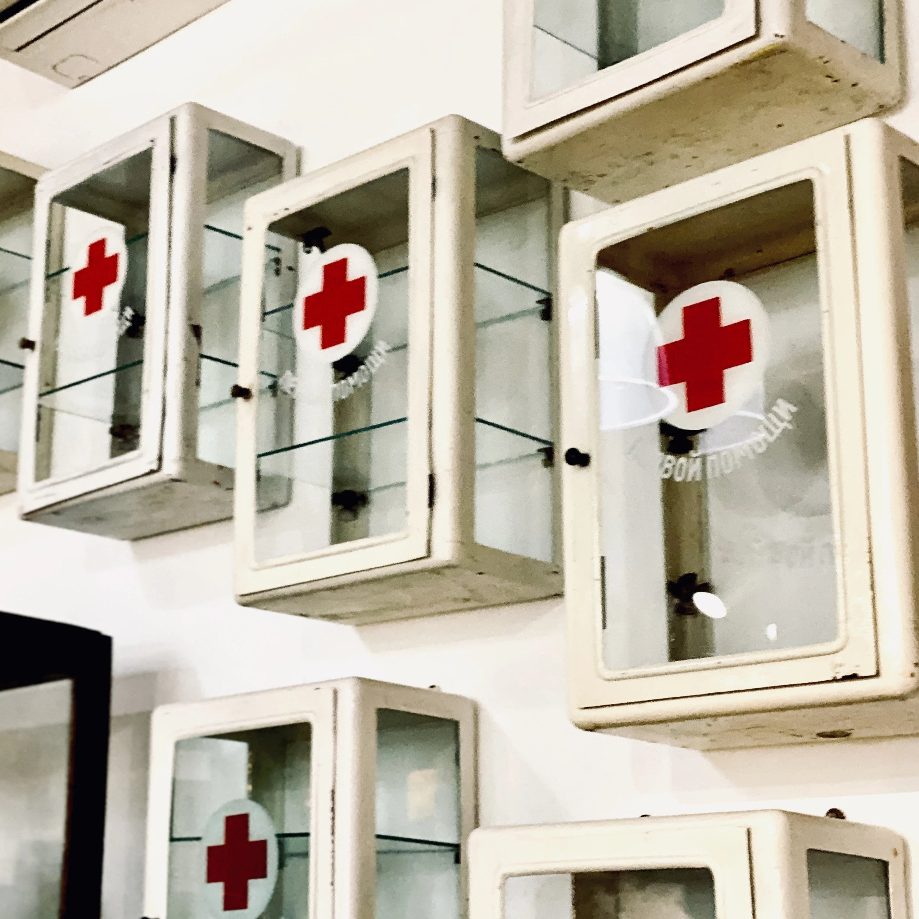 Russian First Aid Cabinets
