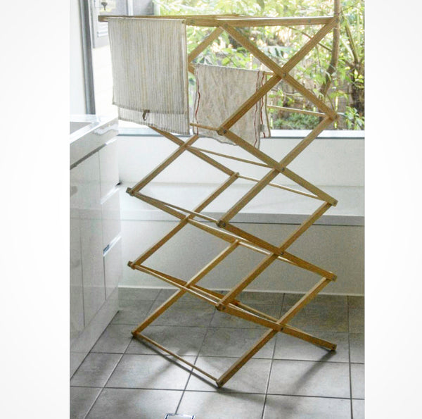 Folding Clothes Horse/Airer - NEW - New Zealand Hoop Pine