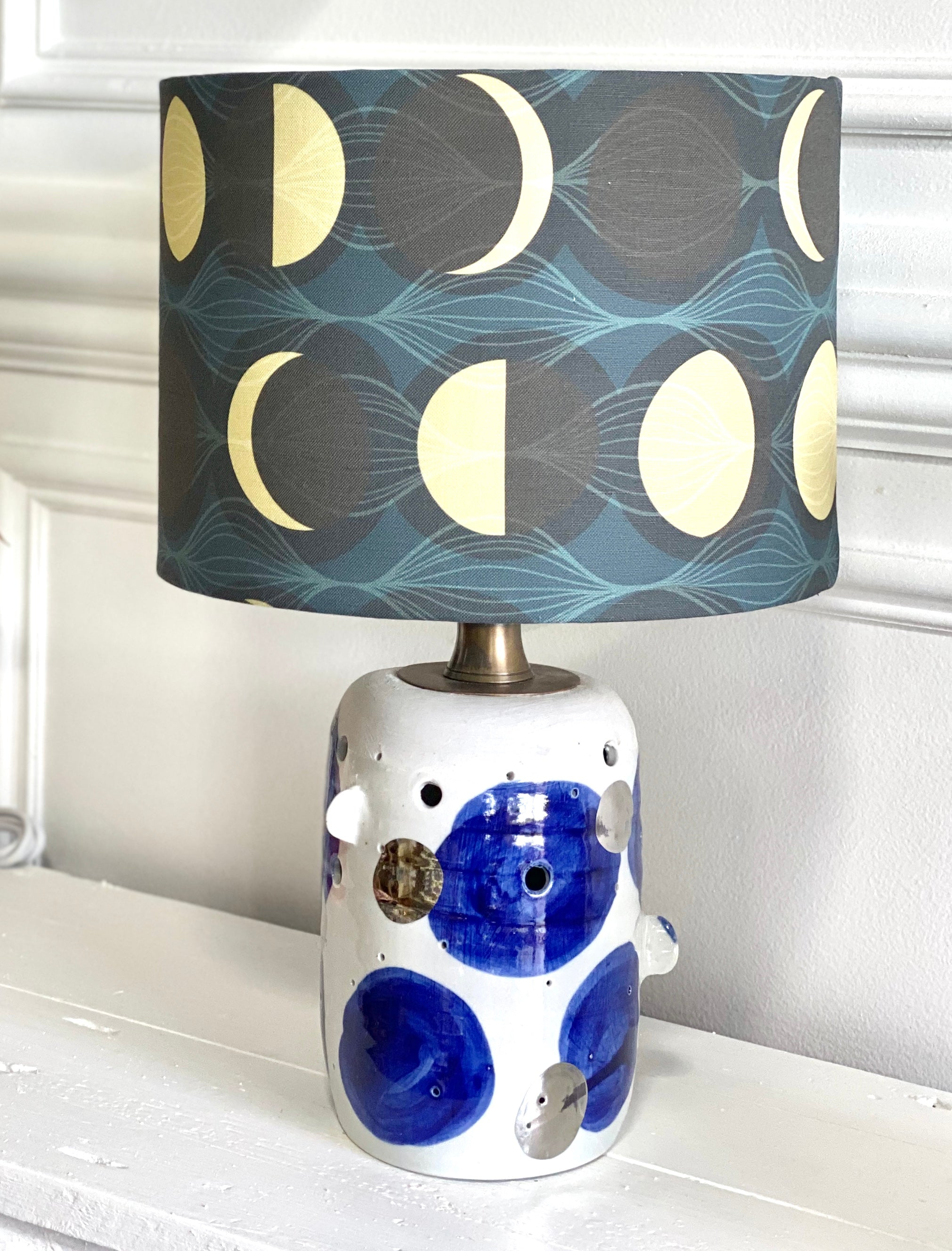 Scout Lamp with base by Bridget Bodenham