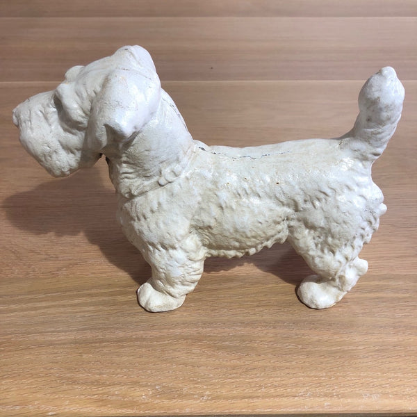 Cast Iron Terrier Doorstop