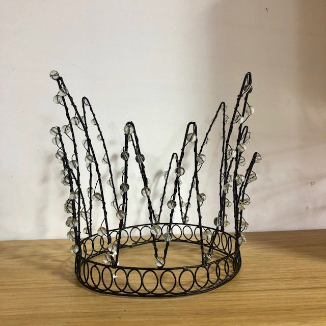 Whimsical Beaded Crown