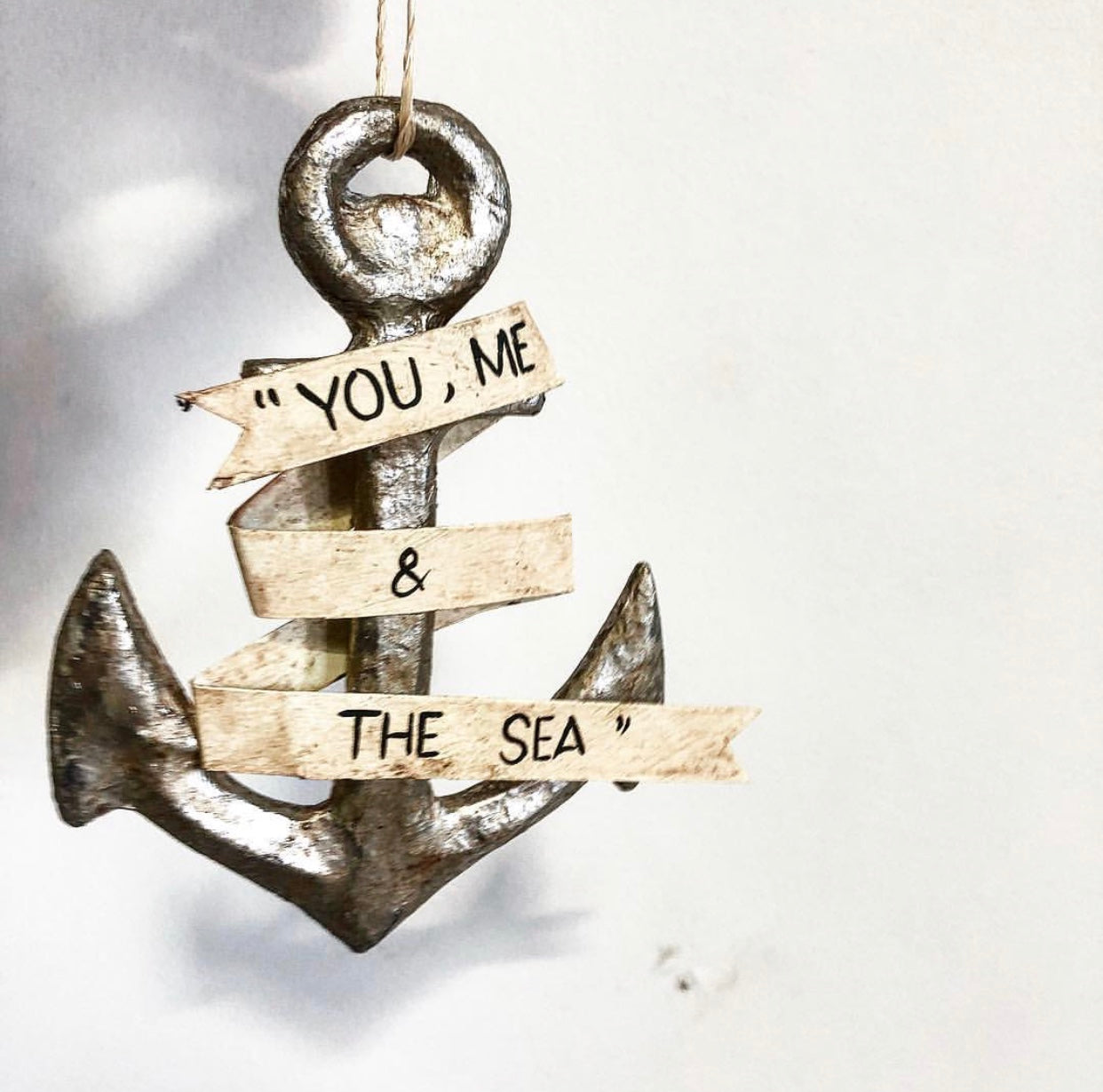 You Me And The Sea Anchor Ornament
