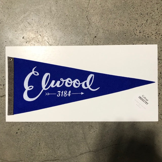 Pennant Elwood in Blue and Grey