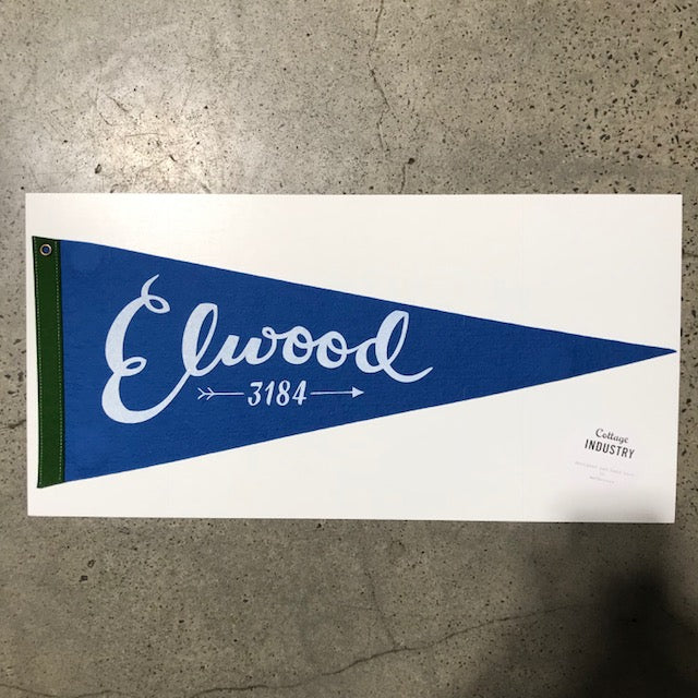 Pennant Elwood in Blue and Green