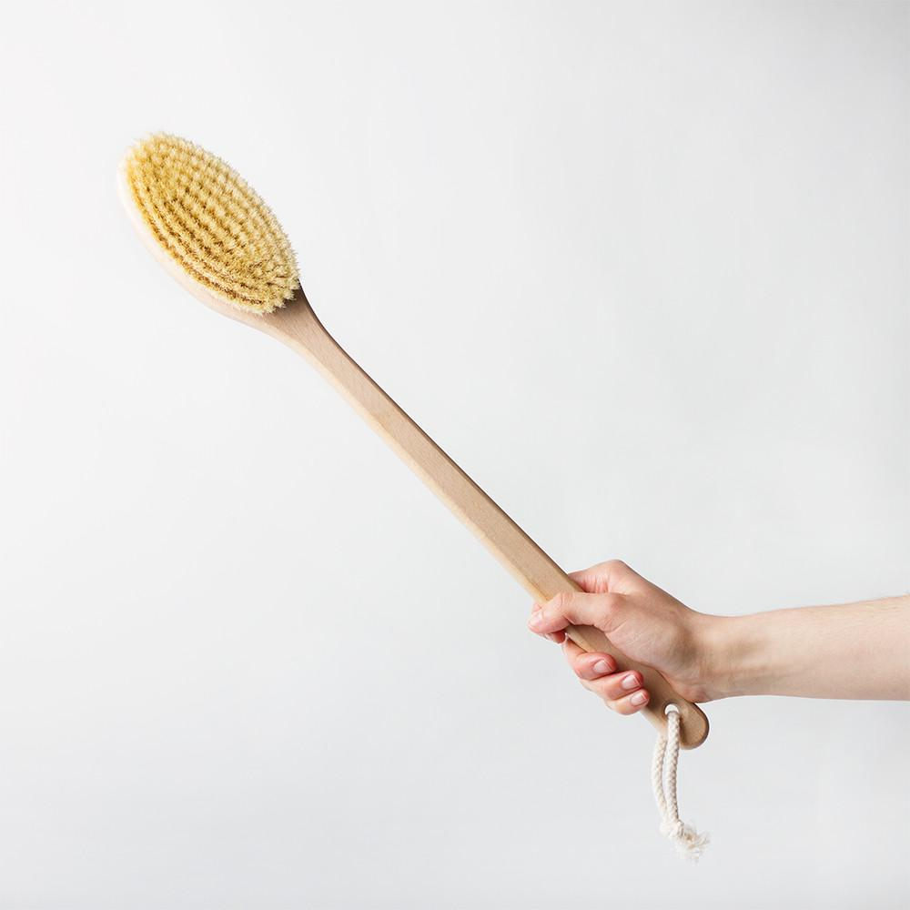Beechwood Bath Brush 50cm by Redecker
