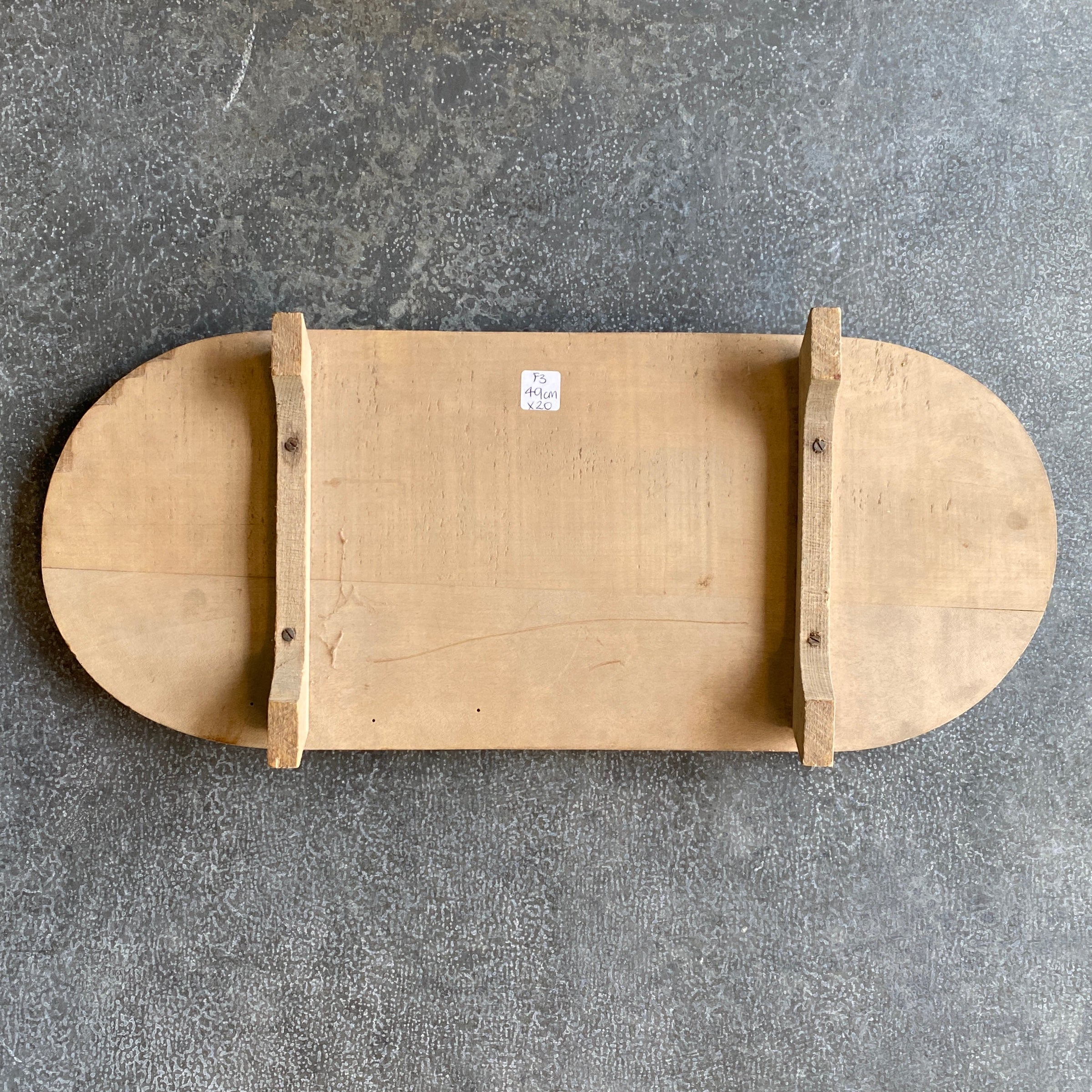 Vintage European Oval Raised Board - F3