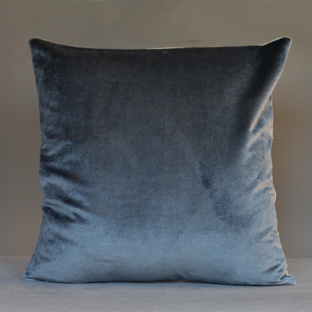 Iosis France Velvet Berlingot Cushion in Flanelle 45cm