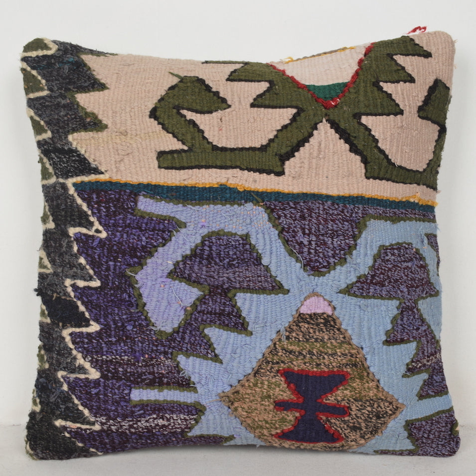 Vintage Kilim Cushion Cover - Ibrahim